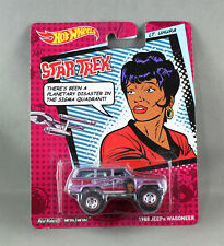 HOT WHEELS STAR TREK 1988 JEEP WAGONEER LT. UHURA BDT15 NEW/SEALED 1:64