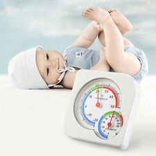 Nursery Baby House Room Mini Thermometer Wet Hygrometer Temperature Meter rf