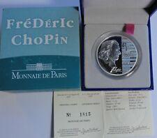 1,5 Euro Fryderyk Chopin 2005 France Frankreich PP PROOF Silver RARE!