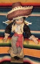 Vintage Lenci Designer João Perotti Brazil Gaucho 14�Art Felt Doll