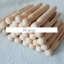 50 Dolly Wood Pegs | Wooden pegs for Craft, Art, Kids Activities