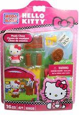 MEGA BLOKs Hello Kitty Set 10925 Music Class horn trumpet cat girl pink Cute!
