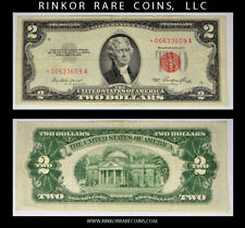FR. 1509*. 1953 $2 RED SEAL STAR / REPLACEMENT NOTE !!!