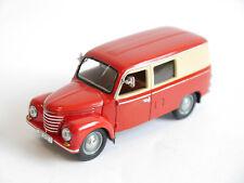 IFA FRAMO V901/2 Leicht Lkw Transporter Kastenwagen Truck red creme, IST in 1:43