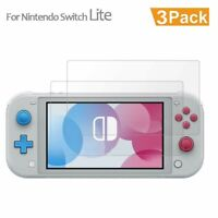 3PCS For Nintendo Switch Lite 9H HD Quality Tempered Glass Screen Protector Film