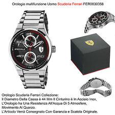 Orologio Uomo acciaio 5 ATM Scuderia Ferrari Speciale Fer 0830358 Man Watch