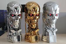 Terminator T800 1/1 Life-Size Head Endoskull Figure Statue Replica Collectibles