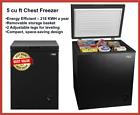 Arctic King 5 Cu ft Chest Freezer, Black photo