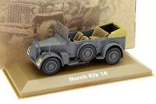 Horch Kfz 15 Militärwagen dunkelgrau 1:43 Atlas