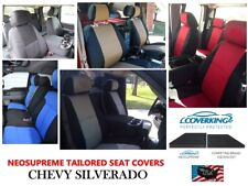 Coverking Custom Tailored Front Neosupreme Front Seat Covers for Chevy Silverado