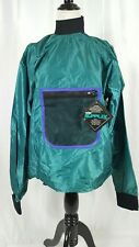 Vintage DuPont Sports Green Pullover Dead Stock Coolmax Supplex Size Large