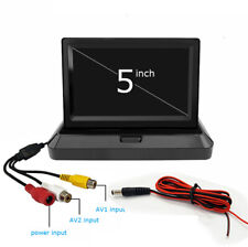 5inch Wired LCD TFT Color HD Monitor For Car DVD Player Reverse Rear View Camera