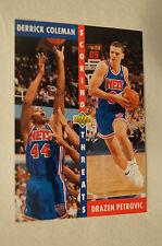 NBA CARD - Upper Deck - Scoring Threats Series - Coleman - Petrovic