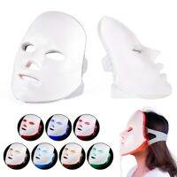 7 Colors Led Light Photon Facial Mask Therapy Skin Acne Wrinkle Beauty Machine