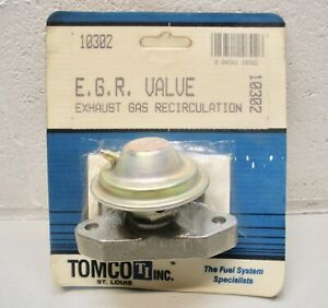 10302 Tomco Heavy Duty EGR Valve fits Chrysler, Dodge models 1974-1987
