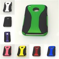For Apple iPhone 3G 3GS Hard Snap-on Rubberized Case Cover