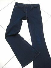 LADIES womens NEXT stretch blue ULTIMATE FLARE JEANS UK 10 R flared BOOTCUT