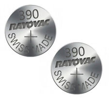 10pc 1.55v Rayovac Watch Battery Swiss Made Silver Oxide SR1130SW D390 S24 UK