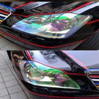 Chameleon Colorful Clear Car Headlight Tail Fog Light Vinyl Tint Film 200cmx30cm