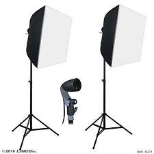 Linco Lincostore Studio Lighting Photography Portrait Softbox Light Kit LK373