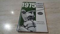 1975 Famous Slugger Yearbook - Johnny Bench Cover