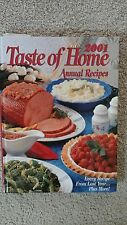 Taste of Home Annual Recipes 2001 Hardcover  FREE SHIPPING EC