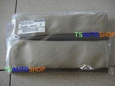 Pair Ivory Leather Seat Belt Cover Genuine For Nissan Navara D40 2005 - 2013
