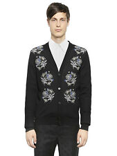 New Alexander McQueen Floral Embroidered Cardigan - Small
