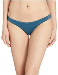 Maaji Women's Flirt Reversible Cheeky Cut Bikini Bottom, Blue, Size Medium Pp7G