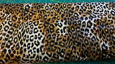 Timeless Treasure cotton Fabric Leopard stripe Skin pattern FQ