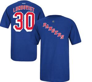 NHL Reebok New York Rangers #30 Hockey Shirt New Mens MEDIUM MSRP $32