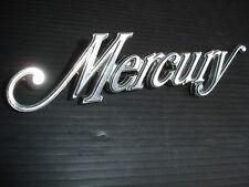 Mercury US Car Emblem Schriftzug Typenschild Kofferraumdeckel Original Oldtimer