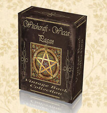 Vintage Books Witchcraft Wicca Pagan Magic Spells Witches Occult Druid DVD 294