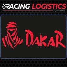 DAKAR x2 BIG stickers decal vinyl 50cm x 21cm rally desert racing 4x4 motor bike