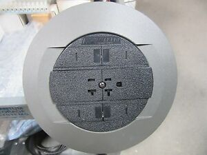 Walker RC3A20AGYCHI Assembly Unit 20 Amp Receptacle Gray Flange NEW!!!