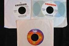 """DAVID ALLEN COE 7"""" SINGLE PROMO lot/collection Two Tone Brown/Stand by your man"""