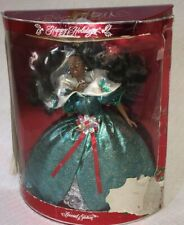 1995 Mattel Special Edition Happy Holidays African American Barbie Doll