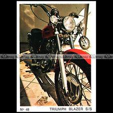 #amp72.048 ★ TRIUMPH 250 BLAZER SS 70's ★ Americana Moto Parade 72