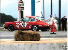 PORSCHE 911 911S JACK RYAN BILL BENCKER SEBRING 12 HOURS 1967 PHOTOGRAPH