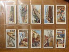 MODERN RAILWAYS  - OGDENS - Original Complete Set of 50 - 1936 - EX