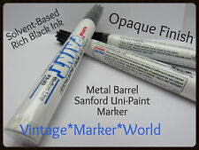 NOS 1 Sealed Sanford UNI Black (Solvent Based) Oil Paint Marker w/Medium Nib