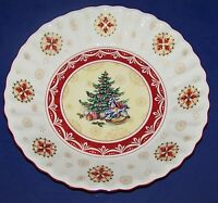 "STUNNING VILLEROY & BOCH 10"" TOY'S FANTASY CHRISTMAS TREE & ROCKING HORSE BOWL"