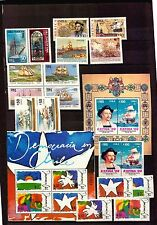 CHILE MNH STAMP COLLECTION BOAT MILITARY PLANE TRAIN COLUMBUS ETHNIC ENERGY ART