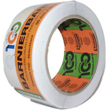 Barnier® Barnierband PVC Klebeband Abdeckband 50mm x 33m Weiß UV-beständig