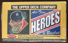 1994 UPPER DECK All-Time HEROES Box New Factory Sealed RARE