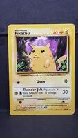 Pikachu 58 Base Set Common Pokemon Card Near Mint