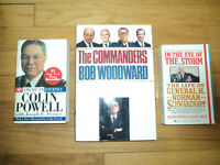 3 Military Biographies H. Norman Schwarzkopf Colin Powell & Commanders Woodward