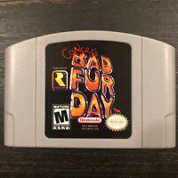 Conker's Bad Fur Day for Nintendo 64 N64 ***READ DESCRIPTION***