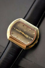 Vintage Large Size Zodiac SST 36000 Automatic Swiss Made Men's Watch 1960s/70s