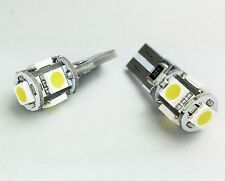 T10 501 194 W5W CAN BUS SIDELIGHTS PARKING GREEN LED 5-SMD bulbs A